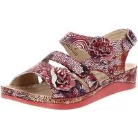Chaussures Femme Sandales et Nu-pieds Laura Vita brcuelo 04 rouge