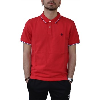 Vêtements Homme Polos manches courtes Timberland ROSSA Rouge