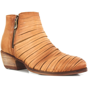 Chaussures Femme Boots Kanna KV7545 COURO