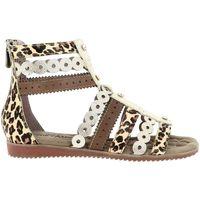 Chaussures Femme Sandales et Nu-pieds Laura Vita feclicieo 23 doré