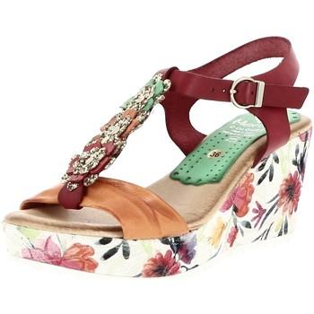 Chaussures Femme Sandales et Nu-pieds Marila S3541 MULTICOLORE