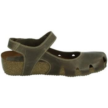Chaussures Femme Sandales et Nu-pieds Interbios  Marron