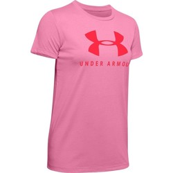 Vêtements Femme T-shirts manches courtes Under Armour Graphic Sportstyle Classic Crew Rose