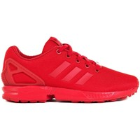 Chaussures Enfant Baskets basses adidas Originals ZX Flux J Rouge