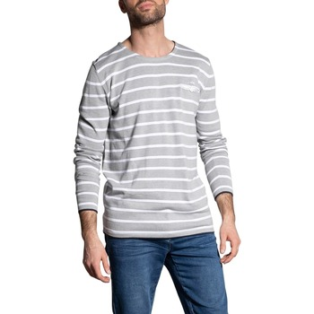 Vêtements Homme Pulls Deeluxe Pull MADOXON Light Grey Mel