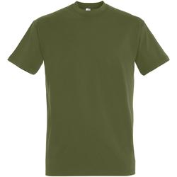 Vêtements Homme T-shirts manches courtes Sols 11500 Vert kaki foncé