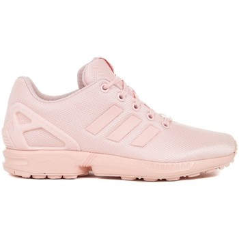 Chaussures Enfant Derbies & Richelieu adidas Originals ZX Flux J Rose