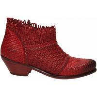 Chaussures Femme Bottines J.p. David PAPUA INTRECCIATO rosso