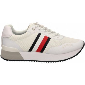 Chaussures Femme Baskets basses Tommy Hilfiger TOMMY MESH CITY ybs-white