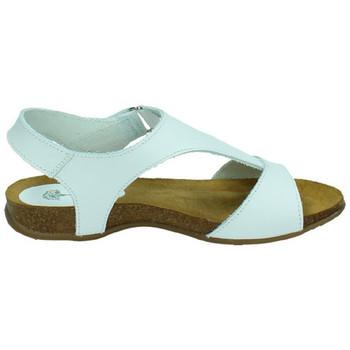 Chaussures Femme Sandales et Nu-pieds Interbios  Blanc