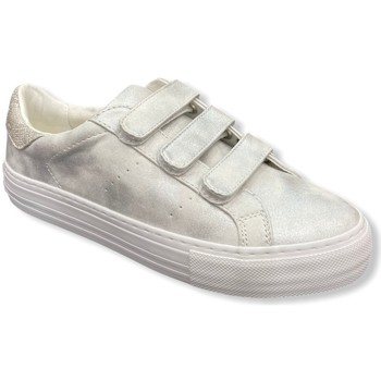 Chaussures Femme Baskets basses No Name Sneakers ARCADE STRAPS Glow White blanc