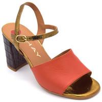 Chaussures Femme Sandales et Nu-pieds Jhay 3773 Orange