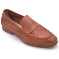 Chaussures Femme Mocassins Reqin's elda cuir bross Marron
