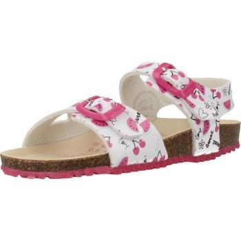 Chaussures Fille Sandales et Nu-pieds Garvalin 202666 Blanc