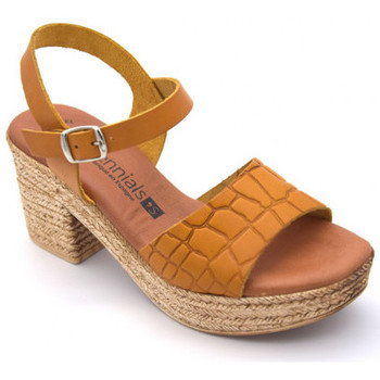 Chaussures Femme Sandales et Nu-pieds Millennials 3220 Marron