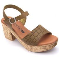 Chaussures Femme Sandales et Nu-pieds Millennials 3220 Vert