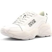 Chaussures Femme Baskets basses Versace e0vubsi3 blanc