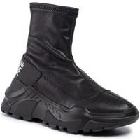 Chaussures Femme Baskets montantes Versace e0vubsc6 noir