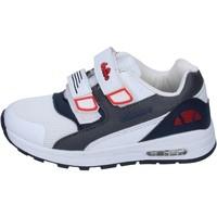 Chaussures Garçon Baskets basses Ellesse BN656 Blanc
