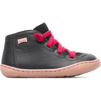 Chaussures Fille Boots Camper Peu K900131-008 Bottes Enfant gris