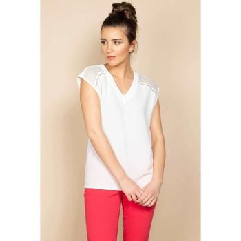 Vêtements Femme Débardeurs / T-shirts sans manche Deeluxe T-Shirt VAL Off White