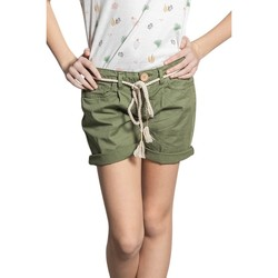 Vêtements Fille Shorts / Bermudas Deeluxe Short STATE Light Kaki
