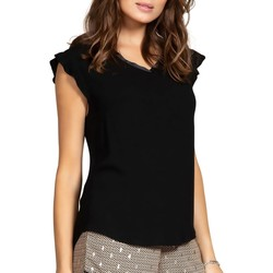 Vêtements Femme Tops / Blouses Deeluxe Blouse MILY Black