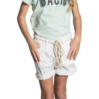 Vêtements Fille Shorts / Bermudas Deeluxe Short STATE Off White