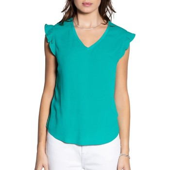 Vêtements Femme Tops / Blouses Deeluxe Blouse MILY Green