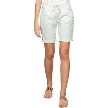 Vêtements Femme Shorts / Bermudas Deeluxe Short STATE Light Mint