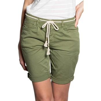 Vêtements Femme Shorts / Bermudas Deeluxe Short STATE Light Kaki