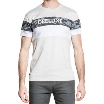 Vêtements Homme T-shirts manches courtes Deeluxe T-Shirt WICKSON Grey