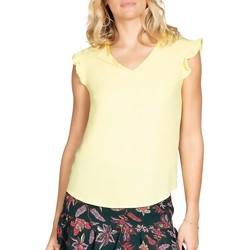 Vêtements Femme Tops / Blouses Deeluxe Blouse MILY Lemon
