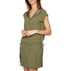 Vêtements Femme Robes courtes Deeluxe Robe VALIA Khaki