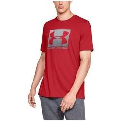 Vêtements Homme T-shirts manches courtes Under Armour Boxed Sportstyle Rouge