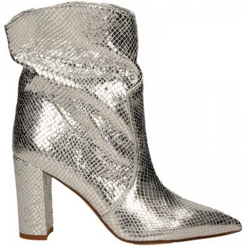 Chaussures Femme Bottines Martina T TRONCHETTO DELHI argento