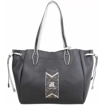 Sacs Femme Cabas / Sacs shopping Jacques Esterel Sac cabas  déco rivets JE CKL Noir Multicolor