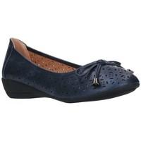 Chaussures Femme Ballerines / babies Balleri 2059-1 Mujer Azul marino bleu