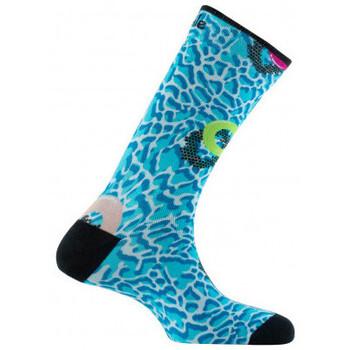 Accessoires textile Homme Chaussettes Achile Chaussettes mixtes imprimées motif Soirée Piscine en coton Bleu