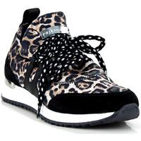 Chaussures Femme Baskets basses Rose Metal J1752 JUNEAU COGNAC