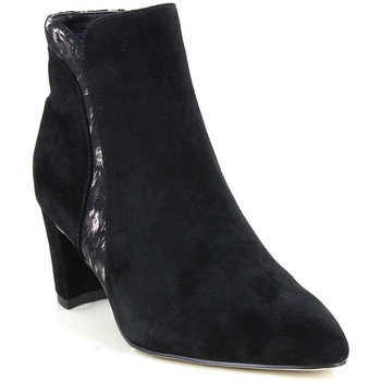 Chaussures Femme Bottines Fugitive PAROS NOIR