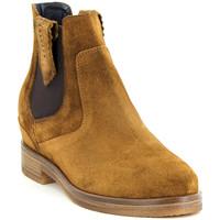 Chaussures Femme Boots Kanna KI9754 CUOIO