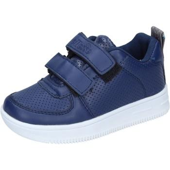 Chaussures Garçon Baskets basses Ellesse sneakers cuir synthétique bleu
