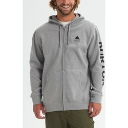 Vêtements Homme Sweats Burton Men's Elite Full Zip Hoodie Gray Heather