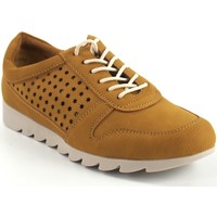 Chaussures Femme Baskets basses Amarpies Chaussure femme  17312 AQH moutarde Jaune