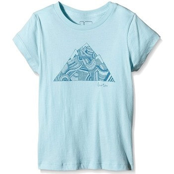 Vêtements Fille T-shirts manches courtes Burton Girls' Peak Ss TShirt Cancun