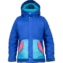 Vêtements Fille Polaires Burton Girl's Moxie Snowboard Jacket Deja Blue/Hot Streak/Bohemian