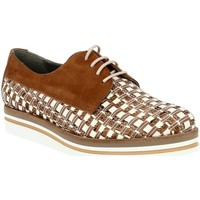 Chaussures Femme Derbies Dorking 7852 marron