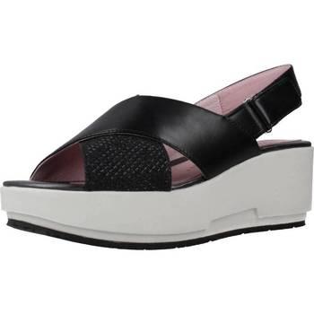 Chaussures Femme Sandales et Nu-pieds Stonefly KETTY 5 NET GLIT/NAP Noir