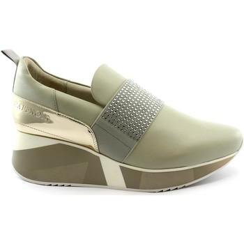 Chaussures Femme Baskets basses Café Noir CAF-RRR-DH422-GR Grigio